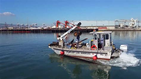 a day at work for the rc boat crew at the port of los - Rc Boats Los Angeles