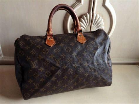 auth louis vuitton speedy handbags monogram canvas toto