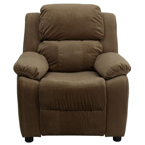 best recliners review deluxe heavily padded contemporary microfiber kids