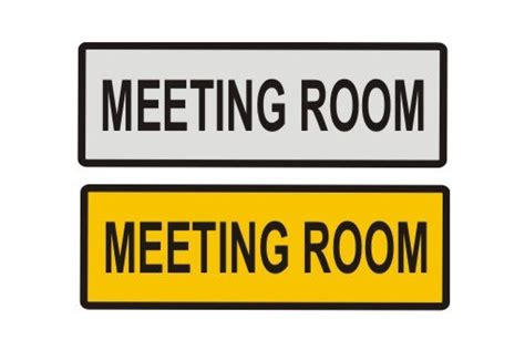 room door sign meeting room door sign a1 personalised gifts
