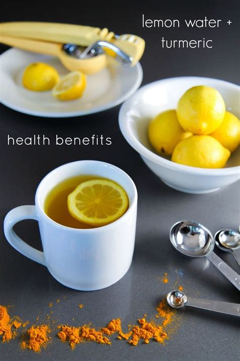 Lemon Water Detox Facts by Warm Lemon Water With Turmeric Recipe Warm Lemon Water