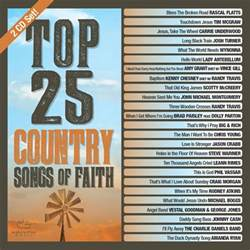 top 25 country songs of faith album review country music rocks