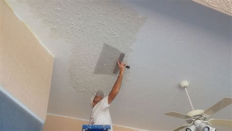 Ceiling Repair by Rockledge Knockdown Texture Ceiling Repair