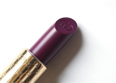 Lipstik Gucci gucci audacious color lipstick bitter grape dragee review