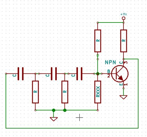 resistor capacitor phase shift phase shift oscillator high pass configuration why only 2 resistors to ground electrical
