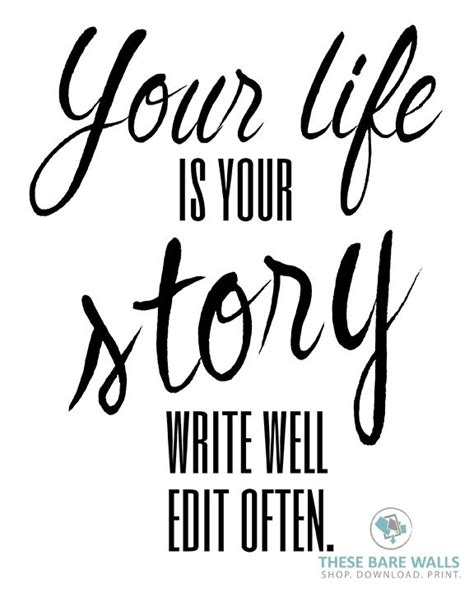 write for your life 30 best inspirational quotes printable wall art