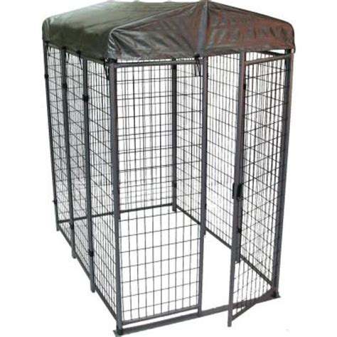 options plus 4 ft x 6 ft x 6 ft folding kennel