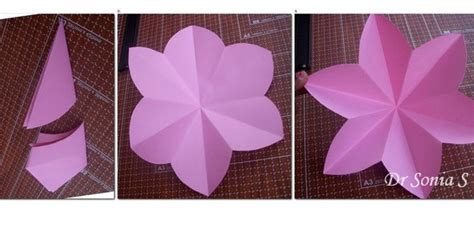 How To Make Paper Flower Decorations - paper flowers decoration tutorial