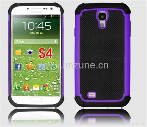 Casing Hadcase Armor For Samsung Galaxy S4 samsung galaxy s4 hybrid shell rugged impact armor pc silicon cover china