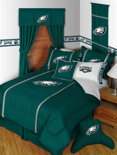 philadelphia eagles bedroom decor philadelphia eagles mvp pillow sham