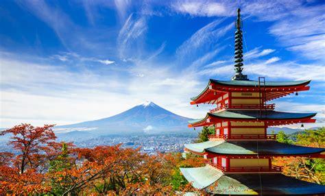 imagenes de japon en verano el monte fuji desde la pagoda chureito del parque