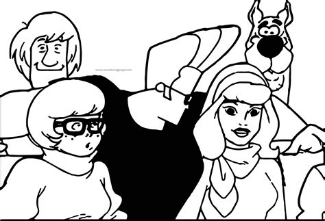 coloring book ep best scooby doo episode johanny bravo coloring page