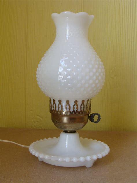 fenton milk glass lamp  ways  bring beauty
