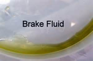 brake fluid color 2003 ford ranger noticed a of drops of coolant on dr