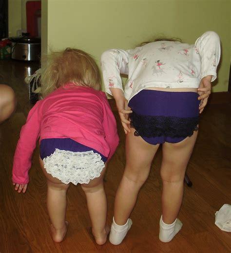 little girlsand thongs momdot making parenting everyone deserves a quilt ruffles can be fun