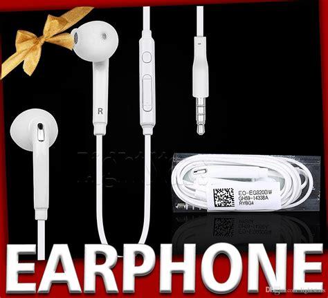 Discount Headset Earphone Samsung S7 Edge S7edge Origi s6 s7 edge in ear earphones headset with mic