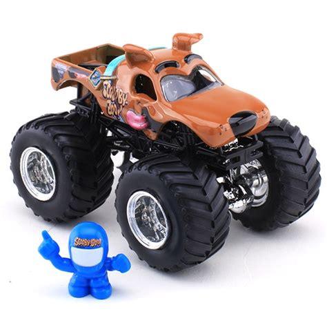 hotwheels monster jam trucks wheels scooby doo die cast truck monster jam figure