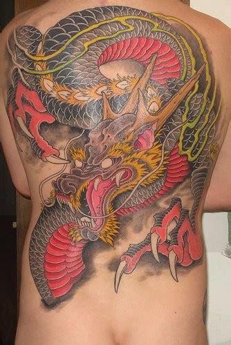 tattoo dragon oriental significado tatuaże smoki pinger pl