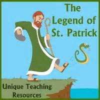 The legend of st patrick includes the story that st patrick drove