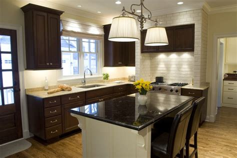 light colored granite kitchen farmhouse with white window blinds front sinks
