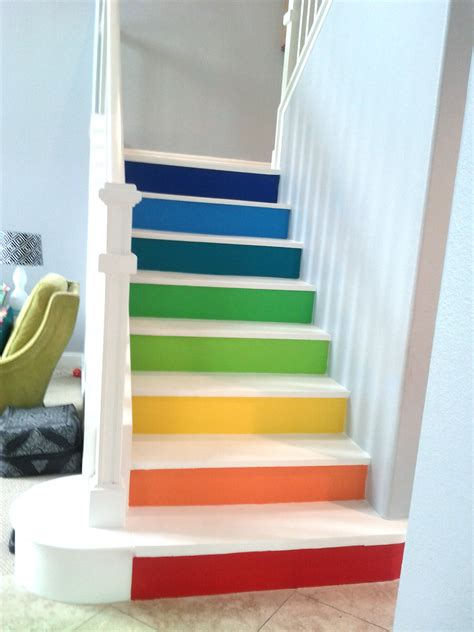 3d Interior Design Online colorful stairs bfarhardesign