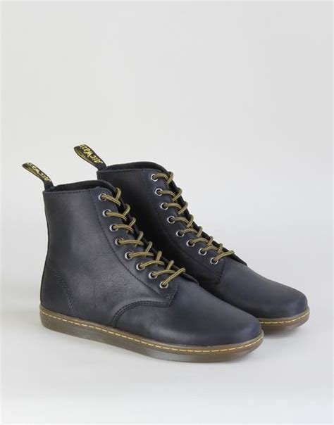 dr martens tobias 8 eye boot dr martens tobias 8 eye boots in black for black