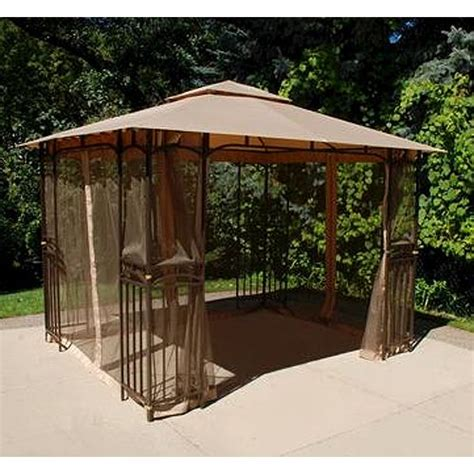 Menards Awnings by Menards 11 X 9 Gazebo Replacement Canopy Gazebo Canopy