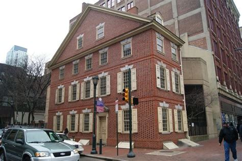 independence house south side the graff house where thomas jefferson drafted the declaration of independence