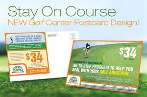 Golf instructor amp course brochure postcard flyer amp ads and