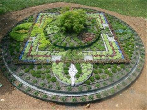 mandala garden design initial layout garden mandala in the garden design pinterest