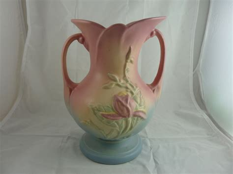 Hull Pottery Vase by Hull Pottery Magnolia Vase From Ornaments On Ruby