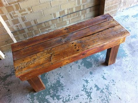 how to make a bench with pallets best 25 pallet benches ideas on pinterest pallet bench