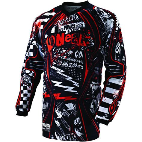 motocross jersey oneal element 2011 switchblade motocross jersey