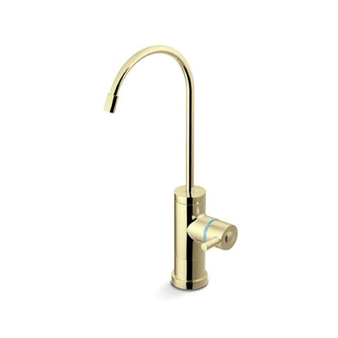 Restaurant Kitchen Faucets Drinking Water Faucet Polished Brass Finish Rainfresh
