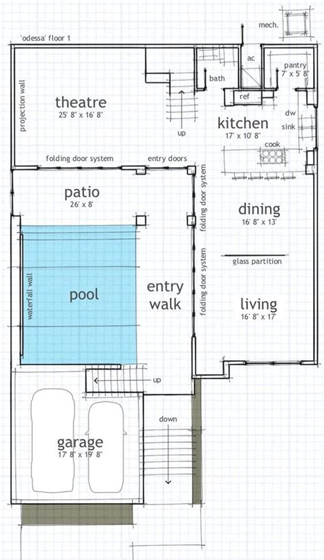 courtyard pool home plans modern beach house with pool courtyard courtyard house
