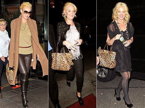Katherine Heigls Valentino Purse by Valentino Leopard Purse Photo Katherine Heigl