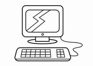 computer coloring pages 12
