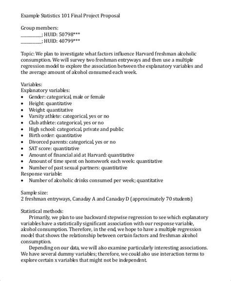proposal format harvard 56 proposal exles pdf
