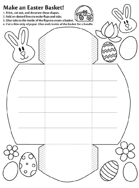 create coloring pages from photos crayola make an easter basket crayola ca