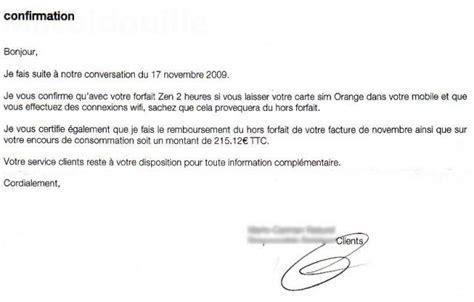 Lettre De Reclamation Free Hors Forfait Orange Facture Le Wifi De L Iphone Logicielmac