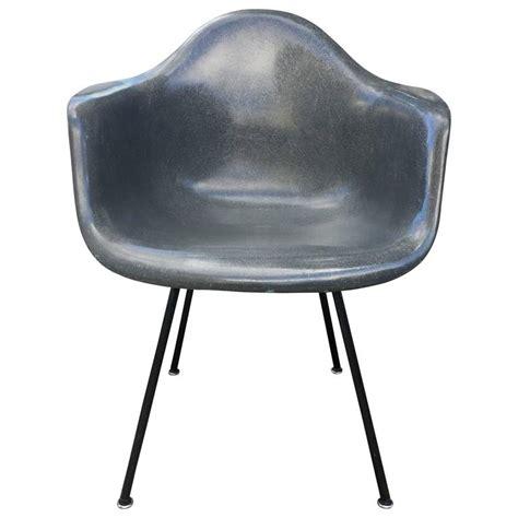 Herman Miller Armchair by Elephant Grey Herman Miller Eames Dax Armchair At 1stdibs