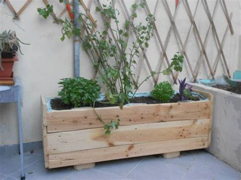 diy planter box ideas modern concrete hanging pot