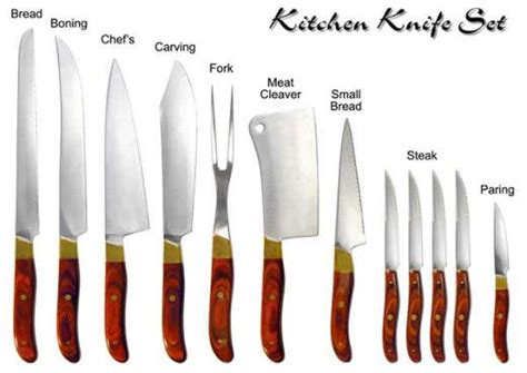kitchen knives and their uses kitchen equipment used in hotels 187 bng hotel management kolkata