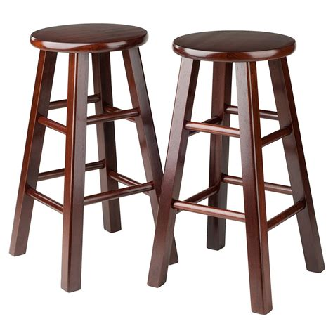 24 Inch Counter Height Stools by 24 Inch Pacey Counter Stools Set Of 2 In Wood Bar Stools