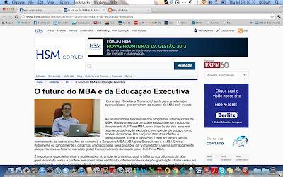 O Futuro Do Mba E Da Educação Executiva Hsm Management do riva meu novo artigo no portal hsm hsm management
