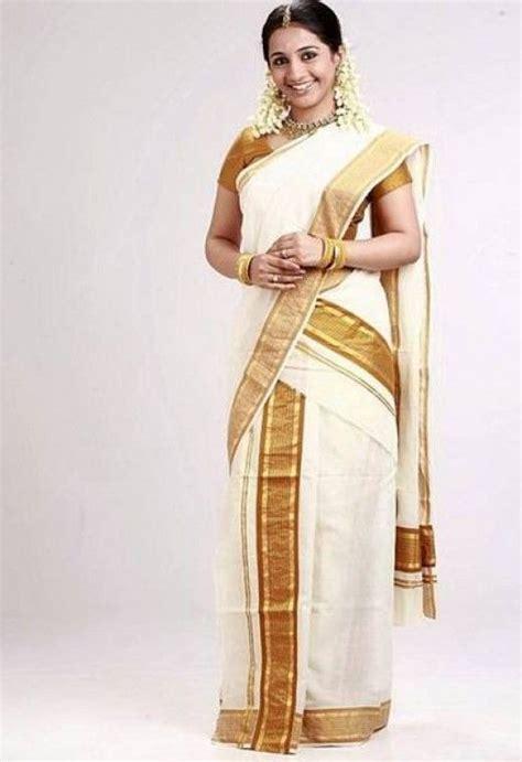 hairstyles in kerala saree kerala mundu saree first reporter home pinterest