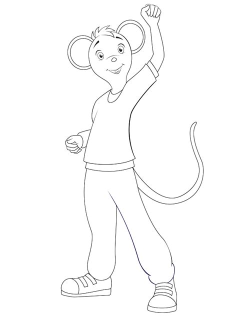 coloring pages of angelina ballerina angelina ballerina coloring pages coloringpagesabc com