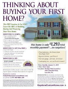 begin the new year with a free time home buyers seminar