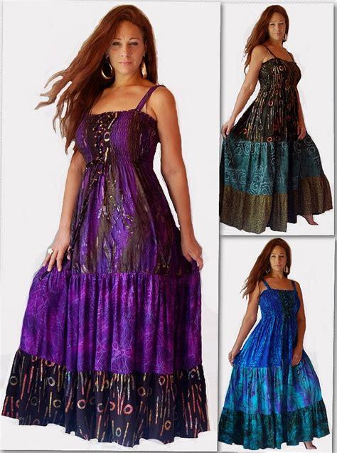 Gamis Maxi Soft Denim Dress Kombinasi Motif Batik Berkualitas 1 lotustraders clothing misses plus size lagenlook boho hippie chic stunning batik clothing