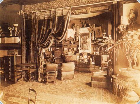 Sitting In This Room Russian by Sitting Room In A House On The Fontanka Levashov 1885 St
